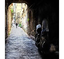 Naples Old Town Photographic Print