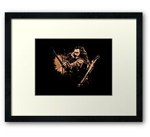 BARD THE BOWMAN Framed Print