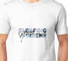 Sleeping With Sirens Logo Floral Unisex T-Shirt