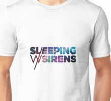 Sleeping With Sirens Logo Galaxy Unisex T-Shirt