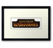 Total War: Warhammer Framed Print