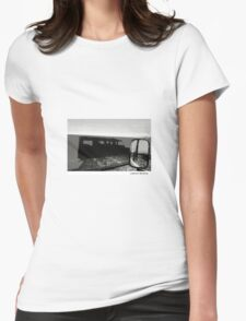 Landrover Defender shadow by whacky Womens Fitted T-Shirt