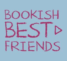 BOOKISH BEST FRIENDS pink matching with arrow right Kids Tee