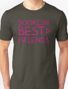 BOOKISH BEST FRIENDS pink matching with arrow right T-Shirt