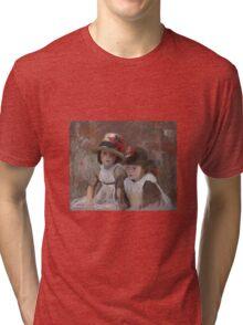 John Singer Sargent - Village Children  Tri-blend T-Shirt