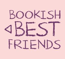 BOOKISH BEST FRIENDS purple matching with arrow left Kids Tee