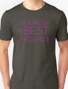 BOOKISH BEST FRIENDS purple matching with arrow left T-Shirt