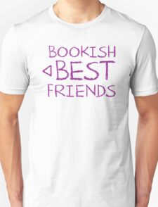 BOOKISH BEST FRIENDS purple matching with arrow left T-Shirt