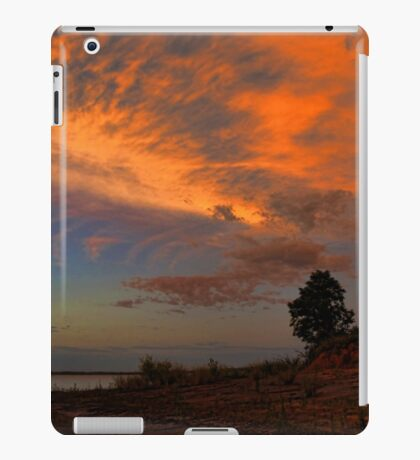 Orange Sundown iPad Case/Skin