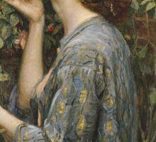 John William Waterhouse - The Soul Of The Rose Sticker