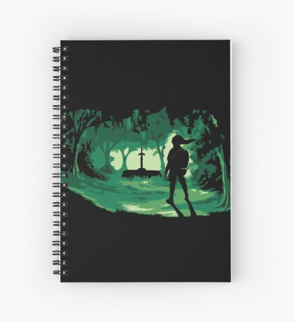 The Master Sword Spiral Notebook