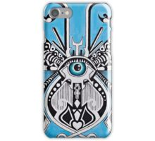 METAMORPHOSIS 01 BLUE iPhone Case/Skin