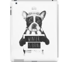 Winter is boring iPad Case/Skin