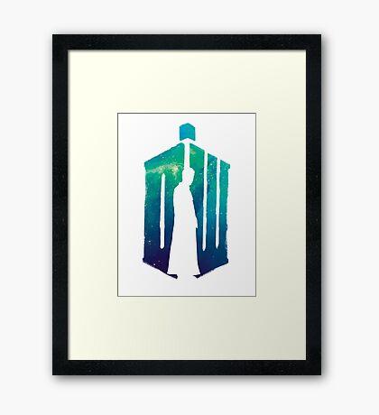 Dr Who - 10th  Framed Print