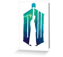 Dr Who - 10th  Greeting Card