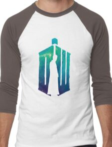 Dr Who - 10th  Men's Baseball ¾ T-Shirt