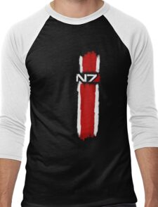 N7 - Mass Effect Men's Baseball ¾ T-Shirt