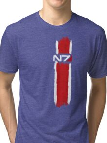 N7 - Mass Effect Tri-blend T-Shirt
