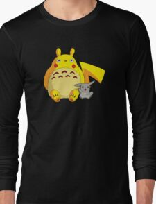Totorotchu & Pikaro  Long Sleeve T-Shirt