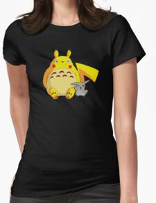 Totorotchu & Pikaro  Womens Fitted T-Shirt