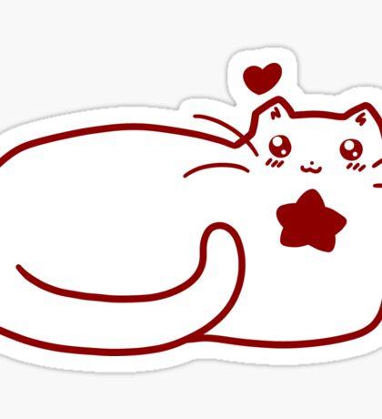 Star Kitty Sticker