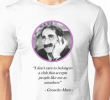 [Quote] Groucho Marx - Club Unisex T-Shirt