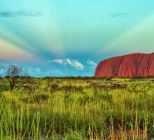Uluru - Ayers Rock Sunset Sticker