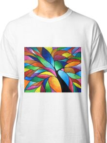 Rainbow Tree Classic T-Shirt