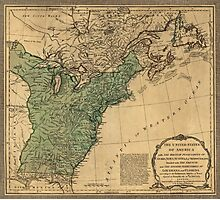 American Revolutionary War Era Maps 1750-1786 947 The United States of America with the British possessions of Canada Nova Scotia & of Newfoundland divided Photographic Print