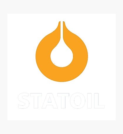 STATOIL RACING LUBRICANT Photographic Print