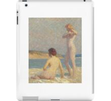 Lawton Silas Parker - Bathers iPad Case/Skin