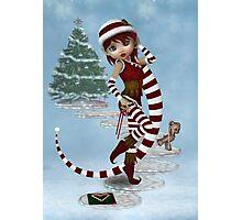 Santas little helper Photographic Print