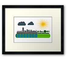 Loading 2 Framed Print