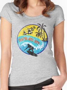 CHARLIE DON'T SURF Women's Fitted Scoop T-Shirt