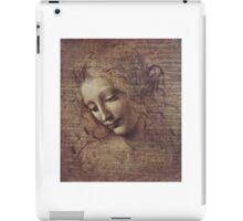 Leonardo Da Vinci - Head Of A Young Woman With Tousled Hair Or Leda iPad Case/Skin