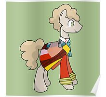 6th Doctor Whooves Poster