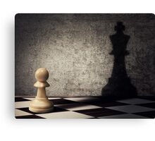 pawn aspiration Canvas Print