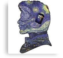 doctor who van gogh Canvas Print