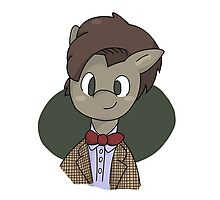 11th Doctor whooves Photographic Print
