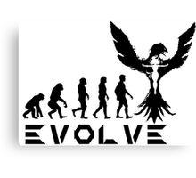 Evolution of X-Man - Phoenix Canvas Print
