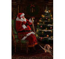 Santas List Photographic Print