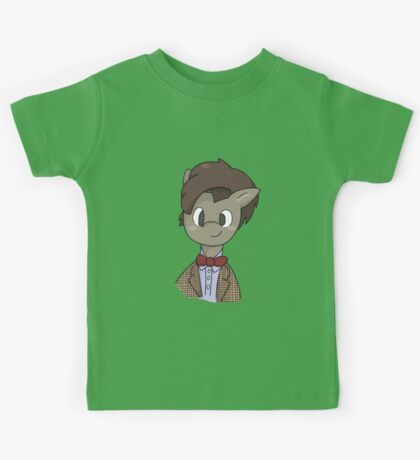 11th Doctor whooves Kids Tee