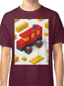 Toy Block Bus Games Isometric Classic T-Shirt