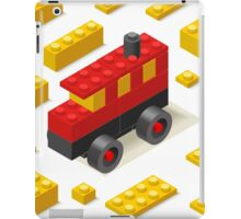 Toy Block Bus Games Isometric iPad Case/Skin
