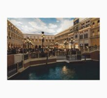Magnificent Shopping Destination - Saint Marks Square at the Venetian Grand Canal Shoppes Kids Tee