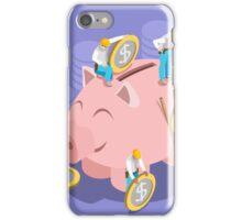 Saving Money Concept iPhone Case/Skin