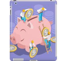 Saving Money Concept iPad Case/Skin