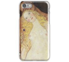 Gustav Klimt  - Adam And Eve iPhone Case/Skin
