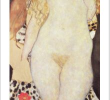 Gustav Klimt  - Adam And Eve Sticker