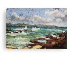 Spoonies Bay, Bonny Hills Canvas Print